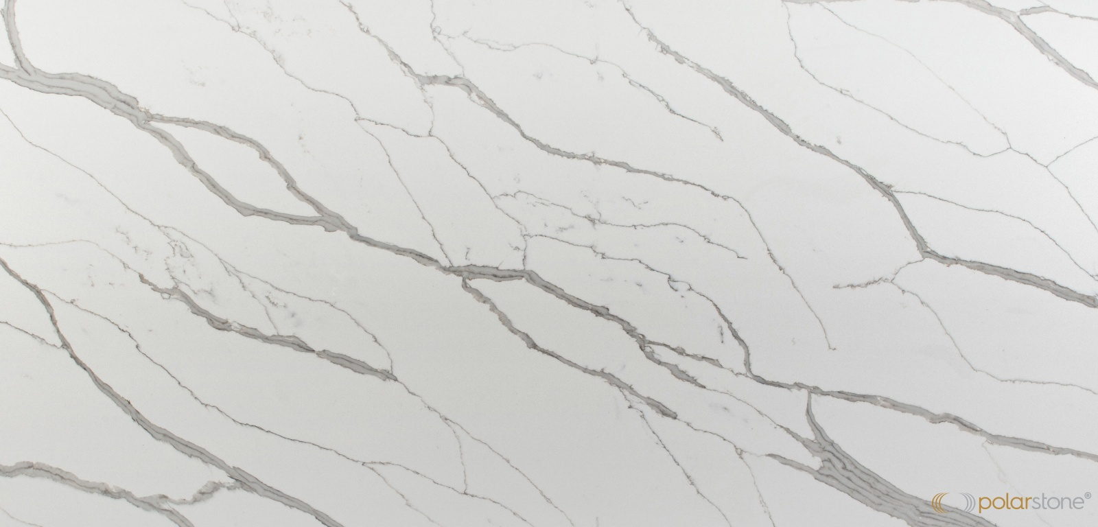 Polarstone Calacatta Manhattan Quartz Countertops 5111