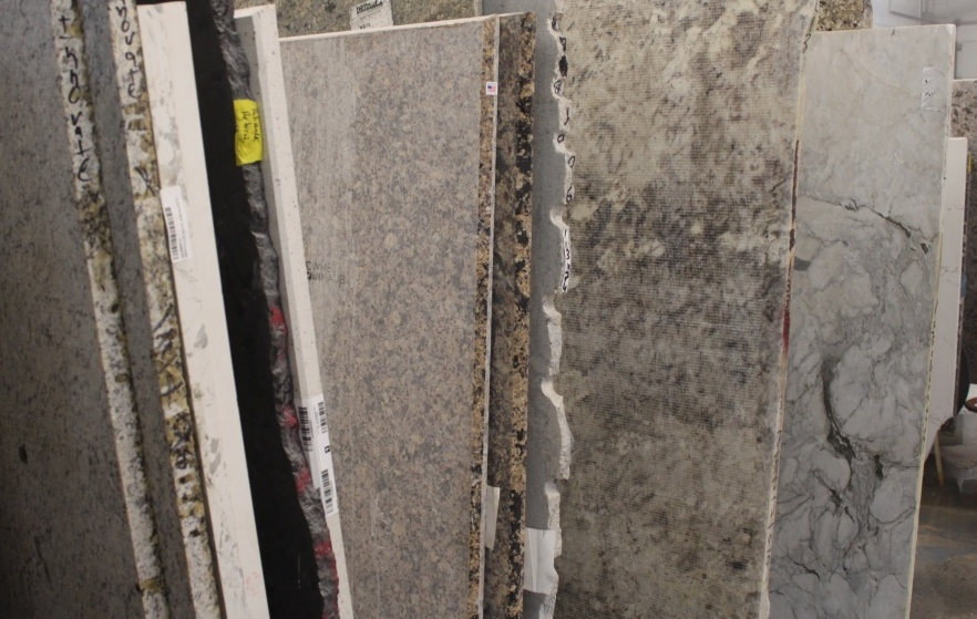 Genial ... Sawjet Granite Slabs